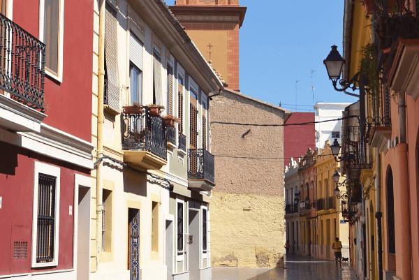 Campanar streets